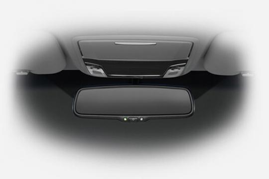 Gương chiếu hậu khoang lái chống chói tự động
