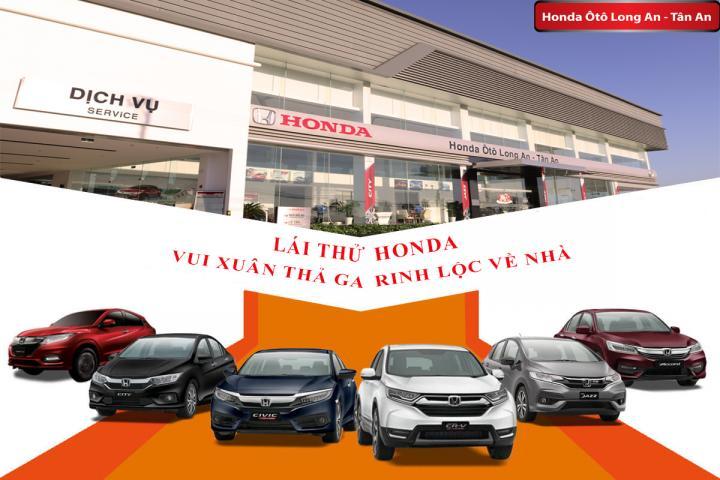 Lịch Test drive tháng 1 - Lái thử Honda rinh lộc về nhà