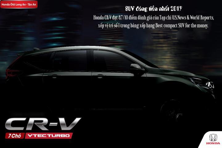 Honda CR-V – Best compact SUV for the money – SUV đáng tiền nhất 2019