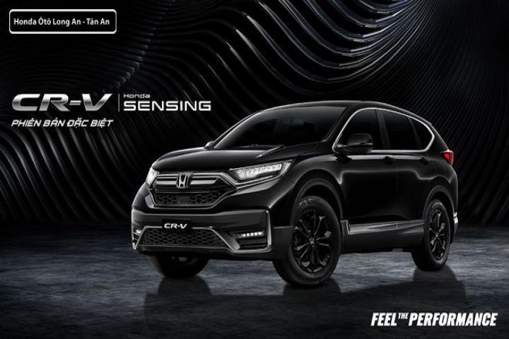 """Ra mắt phiên bản đặc biệt Honda CR-V LSE """"đen huyền bí"""""""