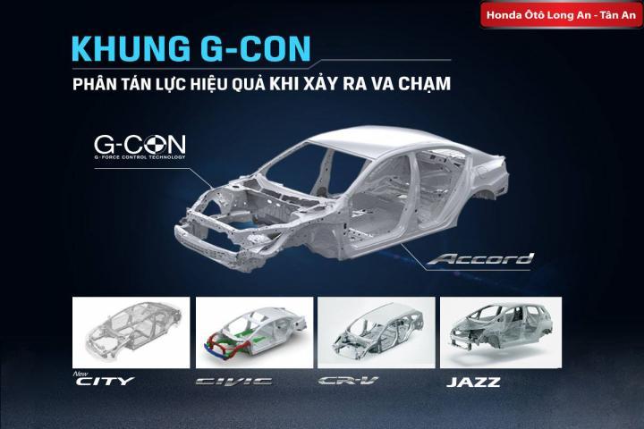 [G-CON] Công nghệ an toàn giảm thiểu va chạm độc quyền của Honda