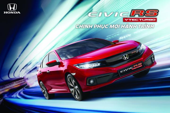 Honda Civic 2019 chính thức ra mắt tại Việt Nam giá bán lẻ từ 729 triệu đồng