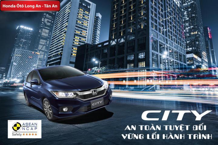 Honda City - An toàn tuyệt đối, vững lối hành trình