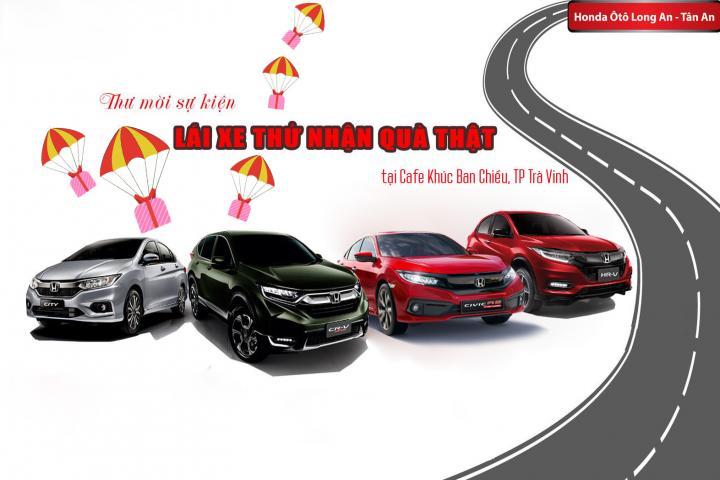 Honda Civic 2019 sẽ có mặt tại TP Trà Vinh