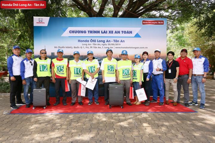 Honda Ôtô Long An tổ chức hướng dẫn Lái xe an toàn