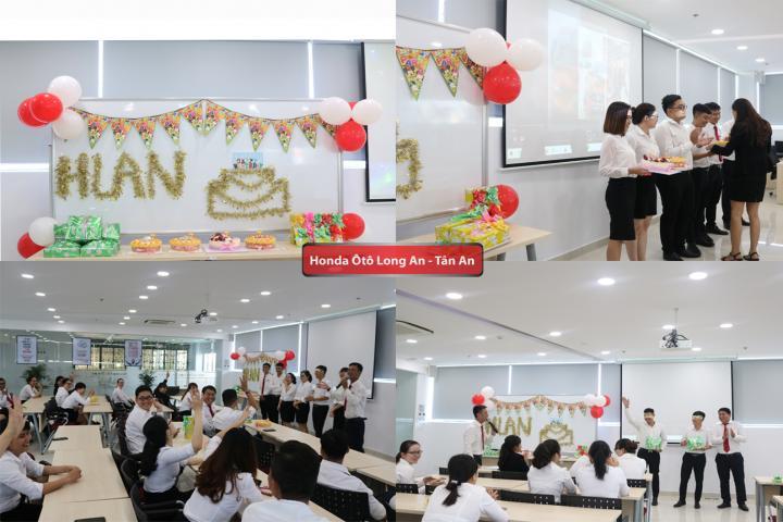 Honda Ôtô Long An tổ chức Tiệc sinh nhật nhân viên tháng 7