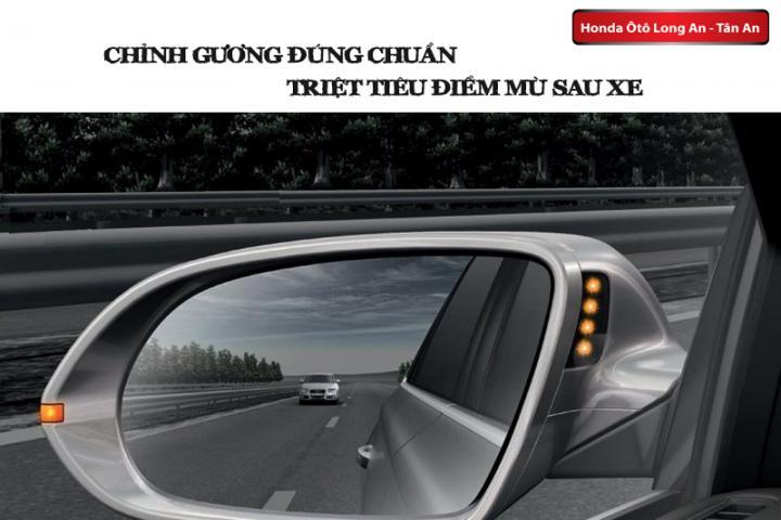 Chỉnh gương đúng chuẩn triệt tiêu điểm mù sau xe ô tô