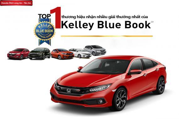 Honda đại thắng giải thưởng của Kelley Blue Book 2019