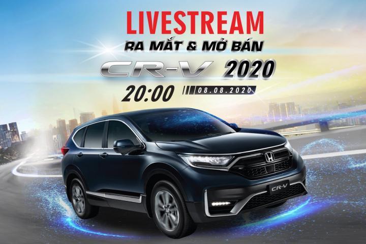 Xem Livestream nhận ngàn quà tặng của Honda CR-V 2020
