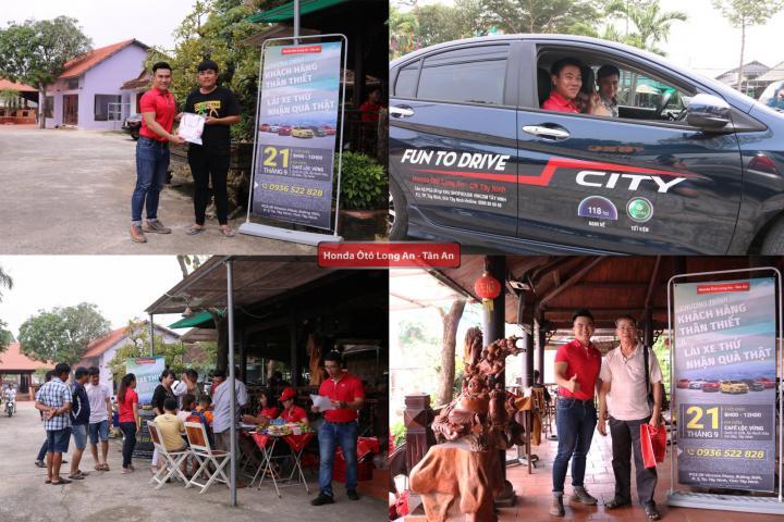 Chương trình Khách hàng thân thiết kết hợp lái thử tại Tây Ninh