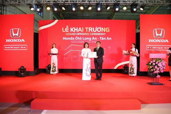 Honda Ôtô Long An – Tân An chính thức khai trương