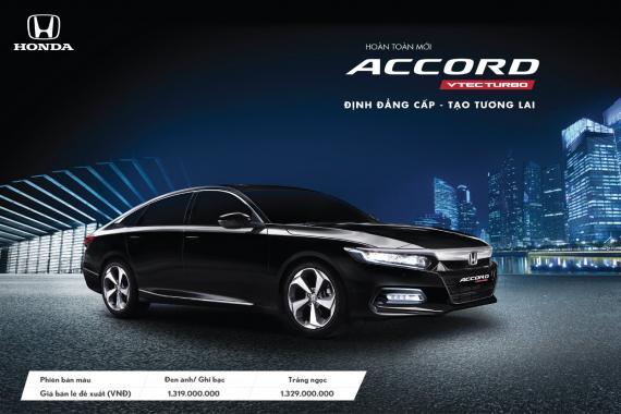 """Honda Accord hoàn toàn mới """"Định đẳng cấp – Tạo tương lai"""""""