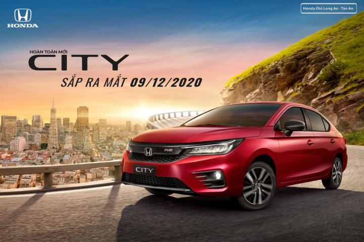 Honda City thế hệ thứ 5 sẽ ra mắt thị trường Việt vào tháng 12