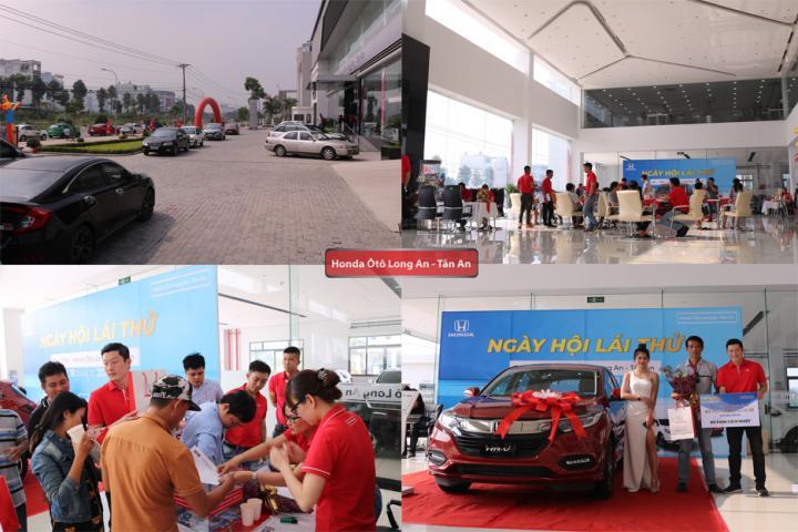 Honda Ôtô Long An lần đầu ra mắt Ngày hội Lái thử tại TP Tân An