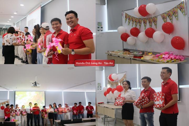 Honda Ôtô Long An tổ chức tiệc sinh nhật nhân viên tháng 11
