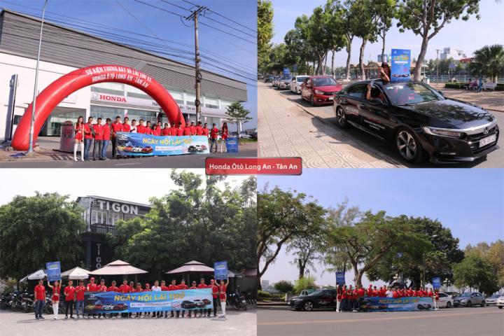 Honda Ôtô Long An tổ chức roadshow khởi động sự kiện Ngày hội lái thử